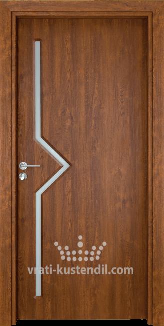Интериорна врата Гама 201 Златен дъб