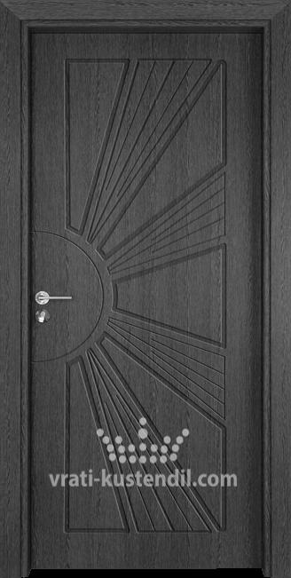 Интериорна врата Гама 204p Сив кестен