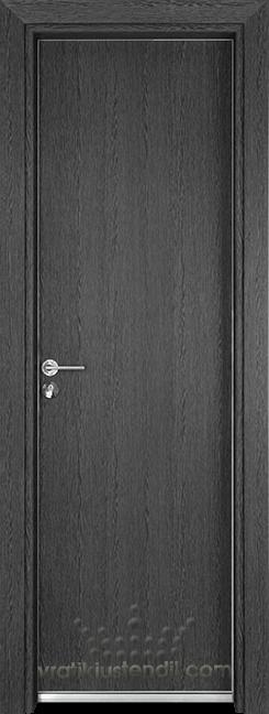 Алуминиева врата за баня – Gama цвят Сив кестен