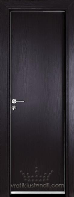 Алуминиева врата за баня – Gama цвят Венге