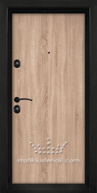 Блиндирана входна врата, модел Т902