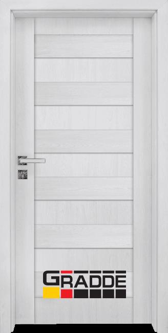 Интериорна HDF врата, модел Gradde Aaven Voll, Сибирска Лиственица